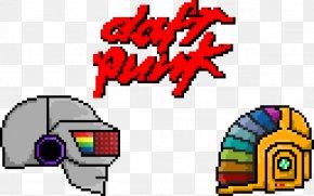 Daft Punk - Daft Punk Pixel Art PNG