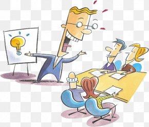 Boss Meeting - Presentation Persuasion Clip Art PNG