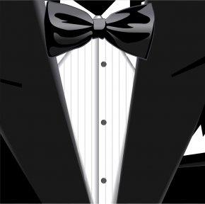 Junior Suit - Bow Tie Suit Black Tie Tuxedo Formal Wear PNG