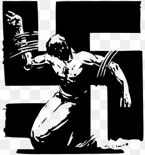 Crucifixion - Spain Spanish Civil War Poster Anti-fascism PNG