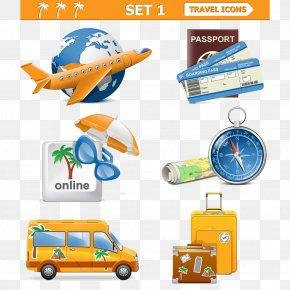 Creative Travel - Air Travel Euclidean Vector Clip Art PNG
