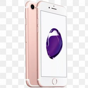 Golden Apple Rose 7 - IPhone 7 Plus Telephone Smartphone Apple LTE PNG