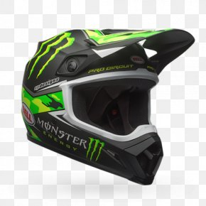 Motorcycle Helmets - Motorcycle Helmets Monster Energy AMA Supercross An FIM World Championship Bell Sports PNG