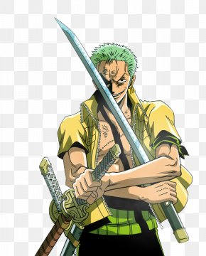 One Piece - Roronoa Zoro Monkey D. Luffy Dracule Mihawk Nami Usopp PNG