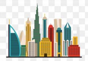 Burj Khalifa - Abu Dhabi Burj Khalifa Sharjah Car Dubai Police Force PNG