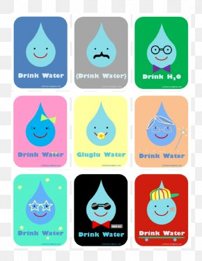 Water - Drinking Water Poster Water Footprint PNG