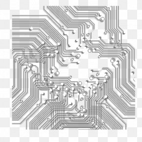 Science And Technology Shading - Download Structure Maze Pattern PNG