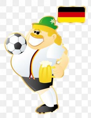 Cartoon Star - FIFA World Cup Germany National Football Team Mascot PNG