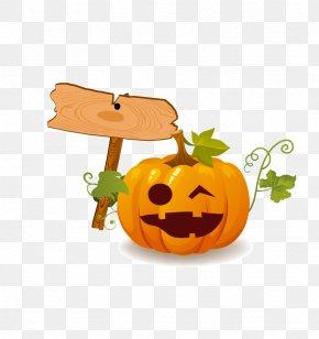 Halloween Pumpkin - Halloween Pumpkin Jack-o-lantern Clip Art PNG