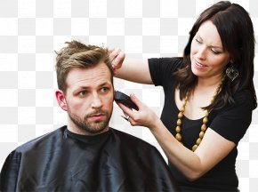 Beauty Salon - Beauty Parlour Hairdresser Hairstyle Tangle Hair Studio Barber PNG