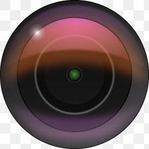 Camera Lense Cliparts - Camera Lens Cartoon Clip Art PNG