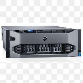 R930128 GB RAM1.9 GHz300 GB HDD Computer Servers 19-inch RackBackplane - Dell PowerEdge PNG