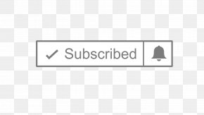 Subscribe Youtube Button - Line Brand Logo Angle Font PNG
