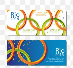 Rio Olympic Rings - 2016 Summer Olympics Winter Olympic Games Olympic Symbols Olympic Sports PNG