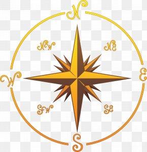 Compass - Piracy Jolly Roger Clip Art PNG