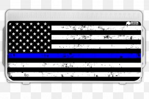 United States - Flag Of The United States The Thin Red Line Thin Blue Line Firefighter PNG