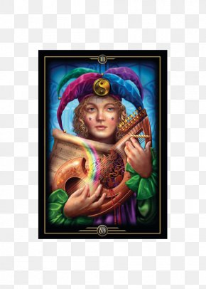 Oracle Of Visions The Gilded Tarot Playing Card Jester PNG