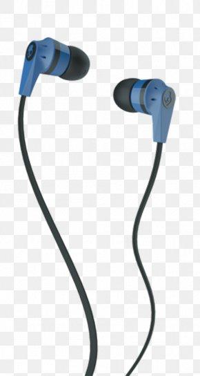 Blue Headphones - Microphone Headphones Skullcandy Apple Earbuds Phone Connector PNG