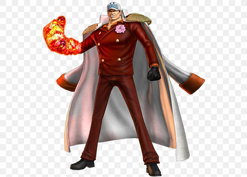 Akainu One Piece: Pirate Warriors 2 Monkey D. Luffy Gol D. Roger, PNG, 559x589px, Akainu, Action Figure, Art, Character, Costume Download Free