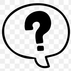 Question Mark - Question Mark Speech Balloon Exclamation Mark PNG