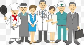 Doctor Chef Nurse Workers - Vietnam Profession Japanese Vocabulary English PNG
