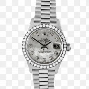 Gold Wire - Rolex Datejust Rolex Submariner Watch Silver PNG