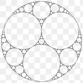 Circle - Apollonian Gasket Fractal Tangent Circles Problem Of Apollonius PNG