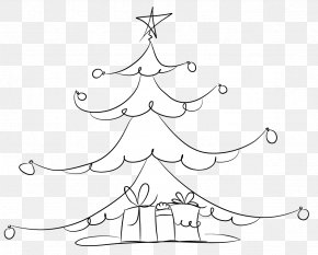 Christmas Tree - Christmas Tree Christmas Ornament Spruce Clip Art PNG