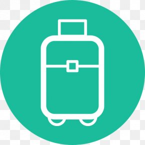 Suitcase Travel Flat Design Travel Icon Suitcase Suitcase Icon - Travel Icon Design Flat Design Desktop Wallpaper PNG