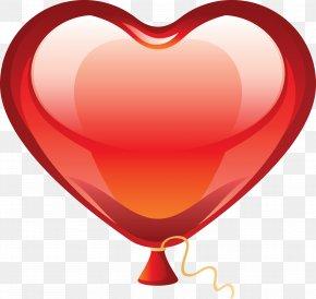 Balon - Heart Balloon Clip Art PNG