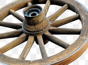 Wheel - Wheel Spoke Wagon Wood Cart PNG
