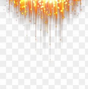 Orange Light Beam - Light Beam Download Computer File PNG