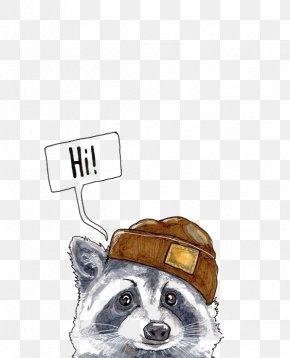 Cartoon Raccoon - Raccoon Giant Panda Pet Puppy Face Animal PNG