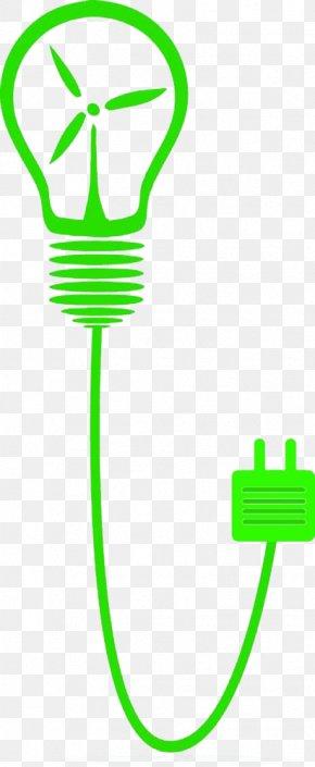 Green Wind Energy Lights - Wind Farm Wind Power Electricity Generation Renewable Energy PNG