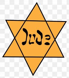 Jewish Holidays - Star Of David The Holocaust Yellow Badge Judaism Jewish People PNG
