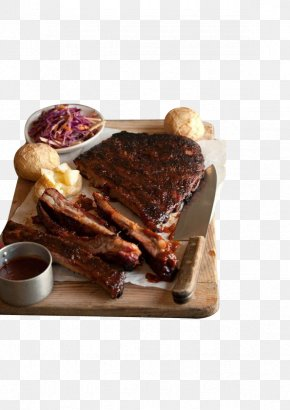 Steak Potatoes Purple Cabbage - Churrasco Spare Ribs Barbecue Pork Ribs PNG