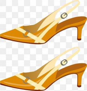 Sandal Shoes - Shoe High-heeled Footwear Sandal Flip-flops PNG
