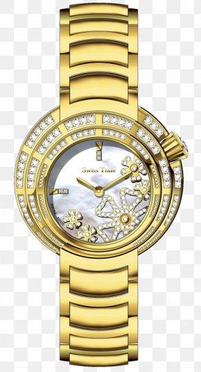 Funny Camping Gifts Women - Cartier Ballon Bleu Rolex Lady-Datejust Watch Gold PNG