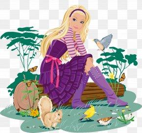 Fantasy Goddess - Barbie Doll Clip Art PNG