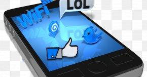 Smartphone - Feature Phone Smartphone Social Media Mobile Phones Clip Art PNG