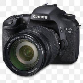 7d Side - Single Lens Reflex Camera Photography Digital Camera Cameras & Optics PNG