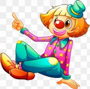 Cartoon Clown - Clown Royalty-free Illustration PNG