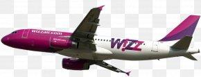 Airplane File - Flight Airplane Wizz Air Aircraft Lufthansa PNG