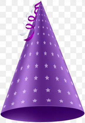Purple Party Hat Clip Art Image - Purple Party Hat Birthday Clip Art PNG