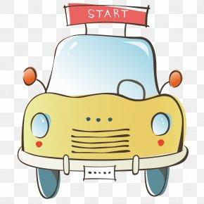 Exquisite Taxi - Taxi Cartoon PNG