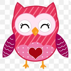Valentine's Day - Valentine's Day Owl Clip Art PNG
