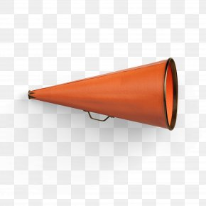 Orange Megaphone - Telephone Mobile Phone Shopping Icon PNG