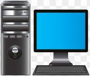 Computer Desktop Pc - Laptop Desktop Computers Personal Computer Clip Art PNG