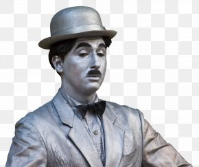 Charlie Chaplin - Statue Of Charlie Chaplin, London The Tramp The Vagabond Comedian PNG