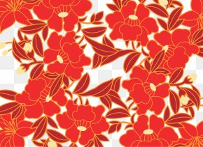 Cartoon Plane Red Roses - Floral Design Plane PNG